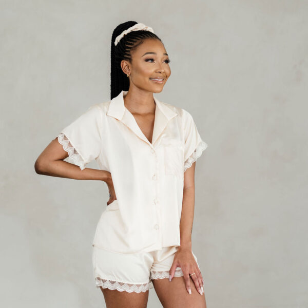shop ella satin and lace sleepwear set south africa online