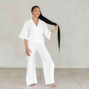 shop Lina linen sleepwear set south africa online
