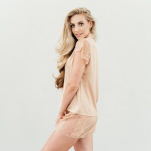 shop nude lace sleepwear set nuve south africa online