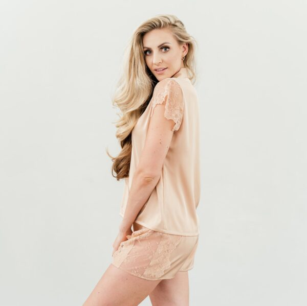 shop nude lace sleepwear set nuve south africa online