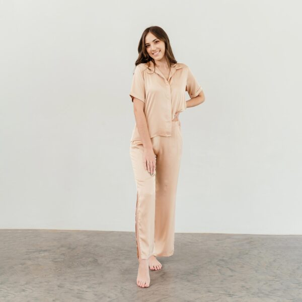 shop nude satin sleepwear sets nuve south africa online